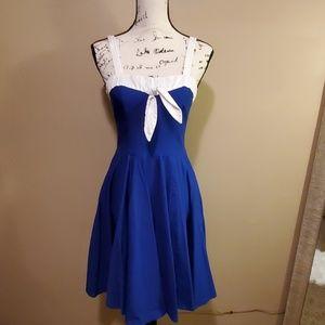 Rock steady rockabilly retro style 50s dress